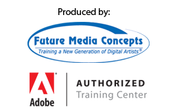 Produced by Future Media Concepts, Adobe Authorized Training Center