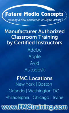 FMC is an ATC for Adobe, Apple, Autodesk, and Avid